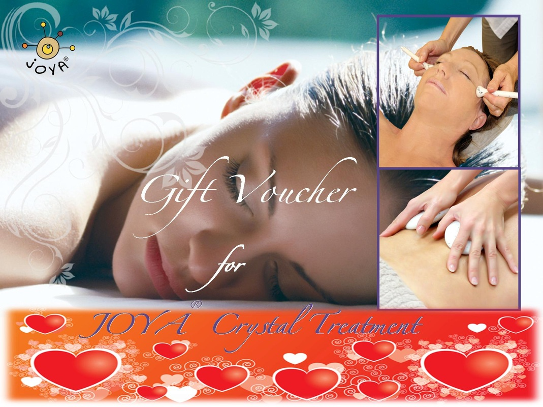 JOYA Crystal Massage Gift Voucher Valentine's Day